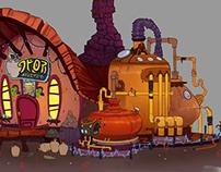 Sci-Fi Tavern Concepts