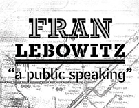 FRAN LEBOWITZ - postcards