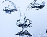 Pen scribbles