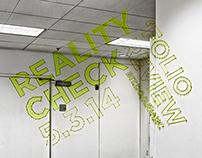 Reality Check (Anamorphic Installation)