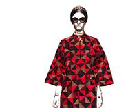 Valentino Spring 2014 : Geometric