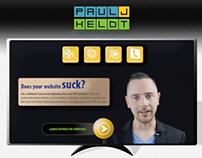 Web, Video, and Marketing Portfolio Website