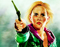 Emma Watson Portrait Illustration