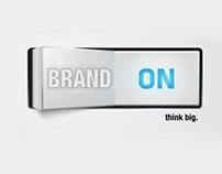 brand on { logo }