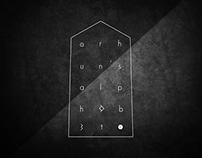 Font   Orhun's Alphabet