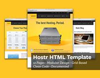 Hostr - HTML Template