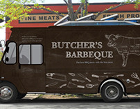 BUTCHER'S BARBEQUE food truck