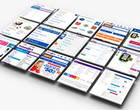 Toys 'R' Us Website Design (Tablet & Mobile)