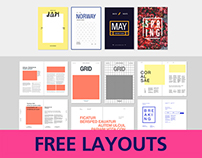 Free Editorial Layouts                      [InDesign]
