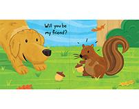 """Will You Be My Friend?"" Children's Book Dummy"