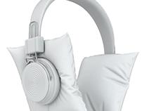Quiet headphone