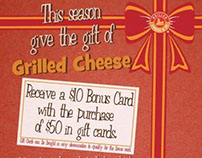 Grilled Cheese & Co - Holiday Gift Card Promo