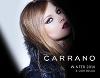 Carrano | e-Shop Design