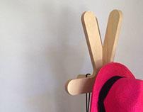 chopstick coat hanger