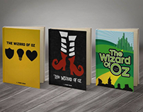 Wizard of Oz Book Covers