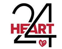 HEART 24 Logo