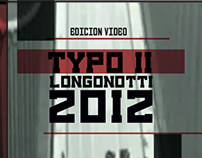 Audiovisual + intervencion tipográfica - 2012
