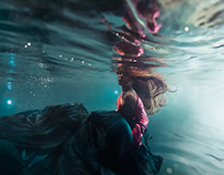 The Sea To Tir Na Nog | Underwater Fashion Editorial