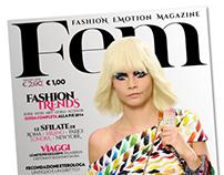 Fem - Fashion Emotion Magazine - Progetto grafico