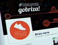 Briza corre - Facebook Cover