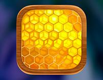 IOS 7 honey icon