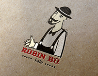 "logo for coffee shop ""Robin Bo"""