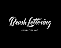 Brush Lettering Collection No. 2