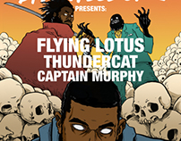 Flying Lotus European Tour 2014