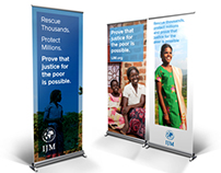 IJM Justice Conference Banners