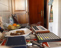 kitchen music, real time sound design