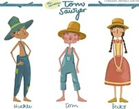 The Adventures of Tom Sawyer: Concept art