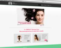 Omega© Personal Care Website Design / Development