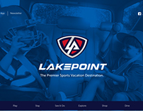 LakePoint Sports | Website and Mobile App