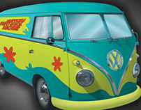 Mystery Machine Bus