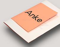 Anke typeface