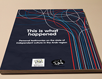 "Book Cover ""This is what happened"""