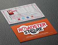 Roadster Store Business Card