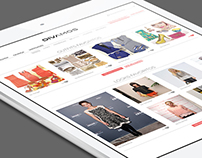Divamos Fashion Community | Web design