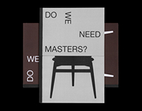 Do we need masters?