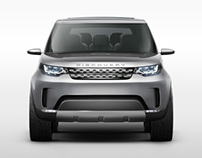 Land Rover - Discovery Vision Concept CGI
