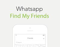 Whatsapp - Find My Friends