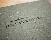 Ontdek Jan van Krimpen (Discover Jan van Krimpen)