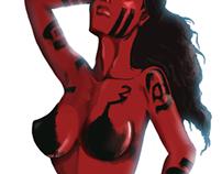 Character design : Femal humanoid.