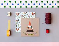 Gnome's Birthday Cards