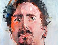 Acrylic on canvas 142x177cm