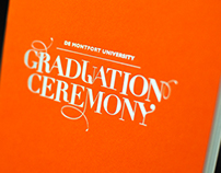 DMU Graduation Ceremony Identity