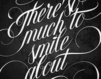 There´s so much to smile about