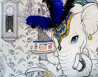 Genji Shoppe Mural