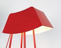 Monsieur - pole lamp
