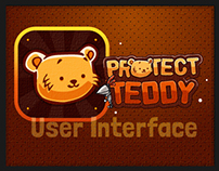 iOS Game User Interface - Protect Teddy